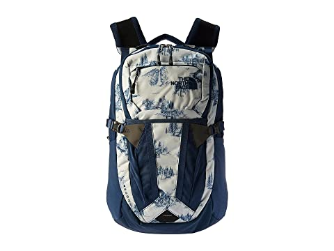 Shady Blue The North Toile Blue Face Recon Yosemite Estampado Shady xU1w7nqU