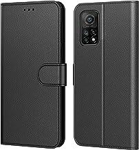Tenphone Coque Mi 10T 5G,Coque Mi 10T Pro 5G, Pochette Protection Etui Housse Premium en Cuir PU,Fermeture Magnétique,Plusieurs Couleurs Compatible pour (Xiaomi Mi 10T / Mi 10T Pro 5G, Book Noir)