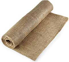Afula Burlap BUR40-5YDS Burlap Natural, X 5 Yards Long, 40
