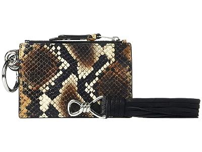 AllSaints Dive Sliver Key Fob (Brown) Handbags