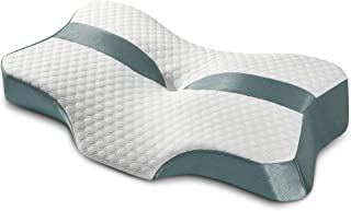 Trobing Cervical Pillow for Neck Pain - Contour Memory Foam Orthopedic Pillow, Ergonomic Neck Pillow, Deep Sleep for Side ...
