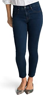 SPANX Slim-X Tencel Ankle Jeans, SD6615, Midnight Rinse