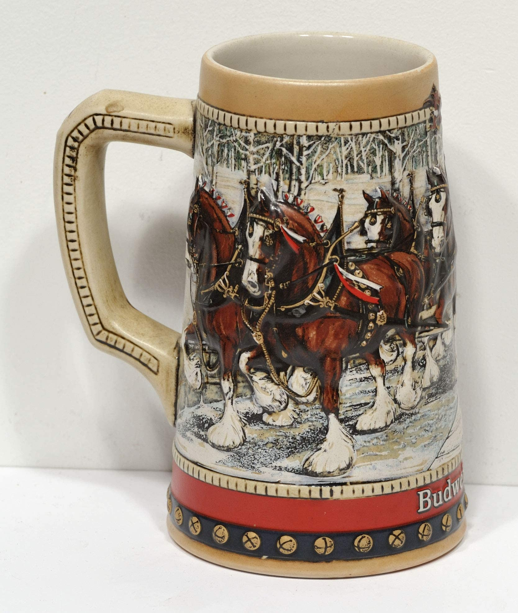 BUDWEISER 1988 COLLECTOR'S SERIES STEIN