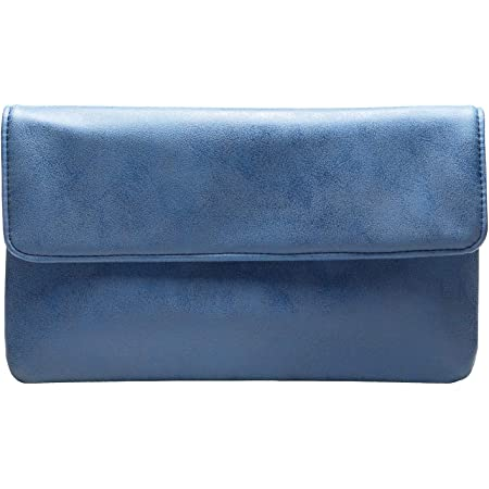 cecilia&bens Elegante Damen Clutch Handtasche | Abendtasche | Schminktasche kleine Tasche 100% Vegan