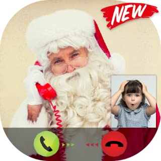 Live Video Call Santa Claus - Free Text Message - Free Fake Phone Game Calls ID PRO 2020 - PRANK FOR KIDS