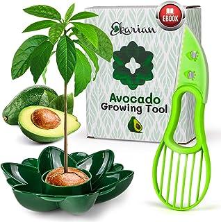 EKARIAN Verktyg för odling av avokado   Present till kvinnor   Odla din egen avokadoväxt   Födelsedagspresent   Avokado-sk...
