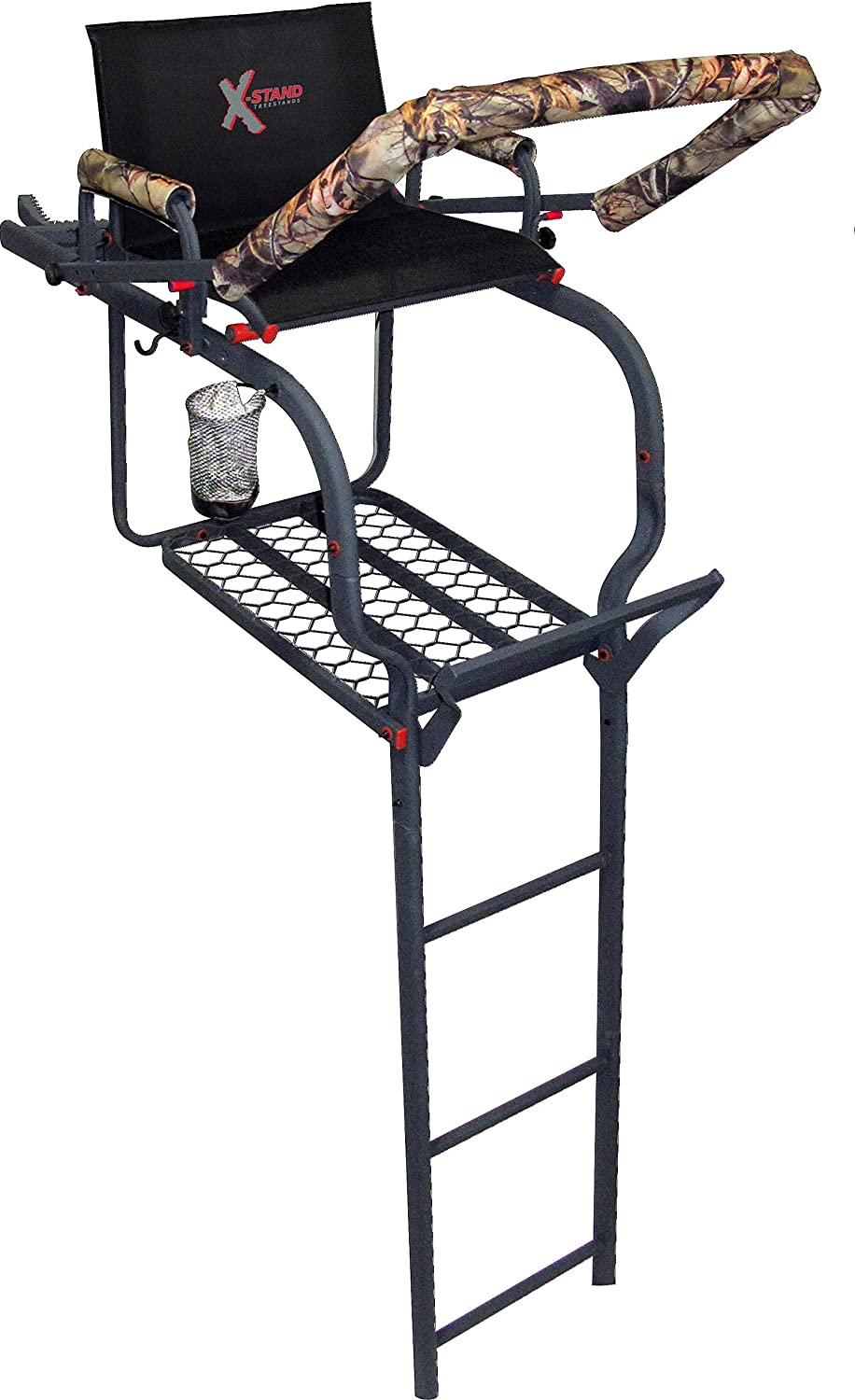 XStand The Duke Ladder Stand, Black