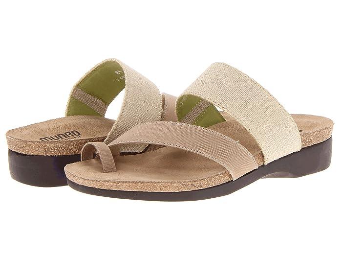Munro Aries (Natural Fabric) Women's Sandals