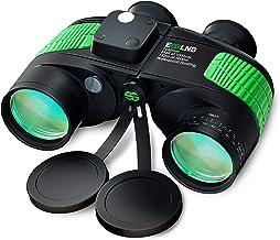 ESSLNB 7X50 Marine Binoculars IPX7 Waterproof Binoculars for Boating with Illuminated..