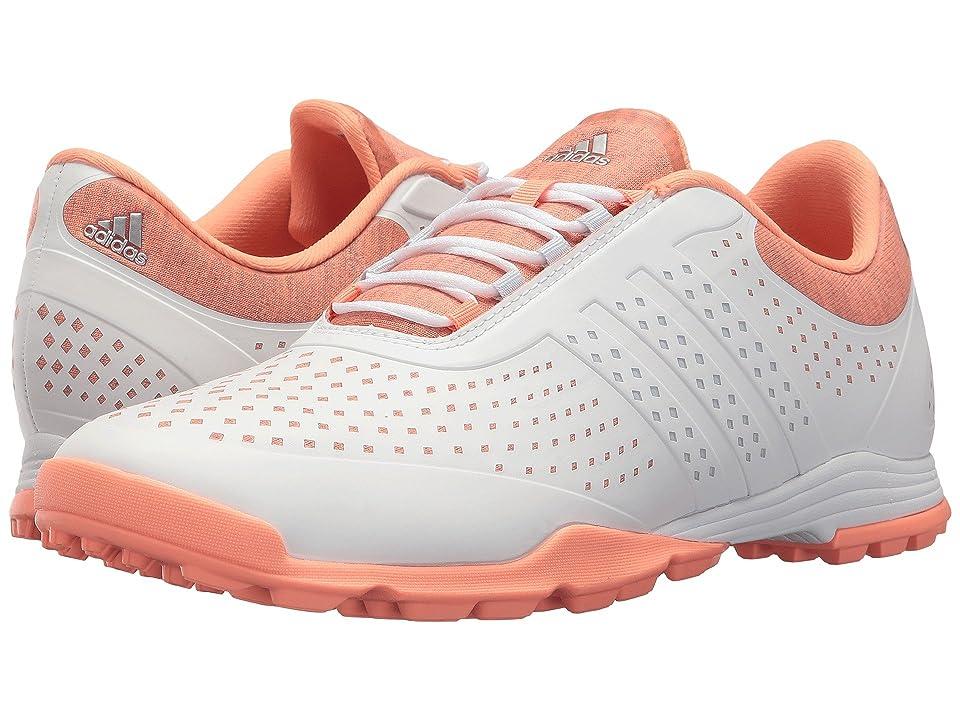 adidas Golf Adipure Sport (Core White/Aero Blue/Chalk Coral) Women