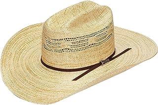Twister Mens Indiana Straw Cowboy Hat Natural 7
