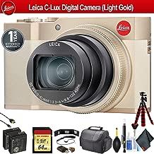 Leica C-Lux Digital Camera (Light Gold) 19126 - Pro Bundle