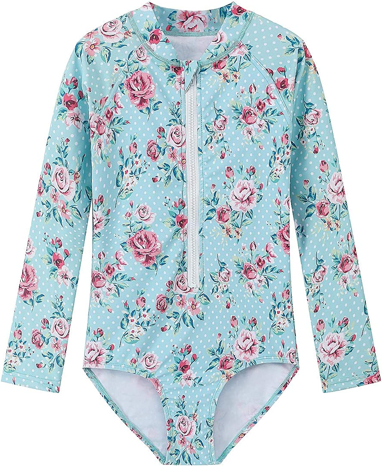 MADCAP Special Campaign Girls Long Sleeve Rash Guard One Piece S Now free shipping Swimsuit Bathing