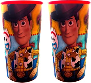 NEW Toy Story Children's Character Designed Collectable Cups, The Perfect Reusable Drinkware For Picnics & Parties