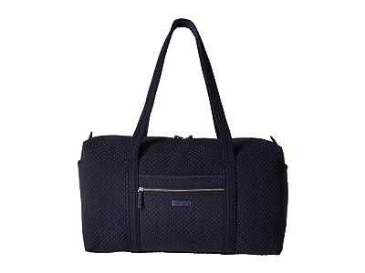 Vera Bradley Iconic Large Travel Duffel (Classic Navy) Duffel Bags