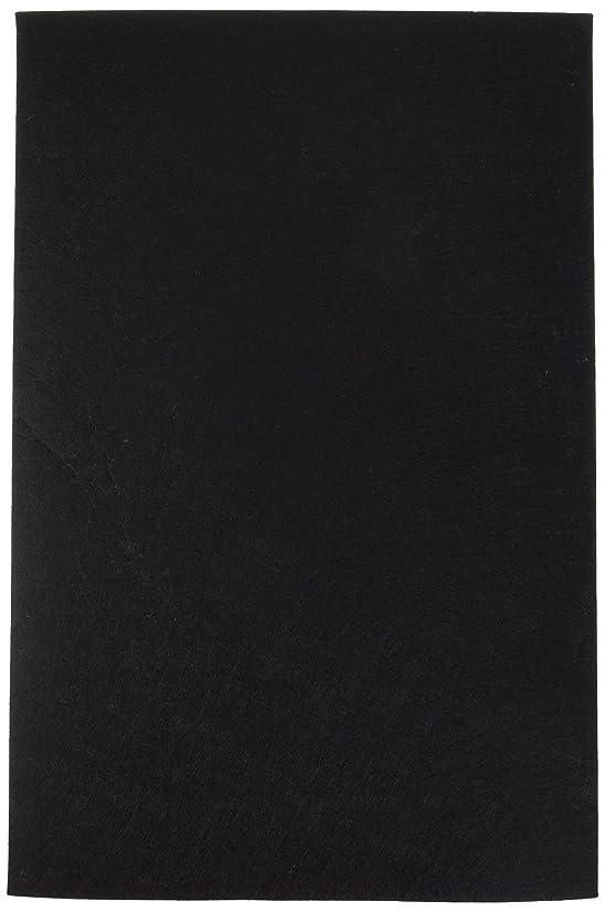 Darice 12 by 18 inch, Stiff Felt Sheet, Black, 1 (12