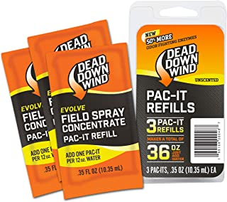 Dead Down Wind Pac-It Field Spray (3 Pack), Orange