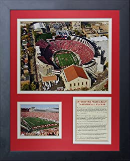 Legends Never Die Wisconsin Badgers Camp Randall Stadium Framed Photo Collage, 11 by 14-Inch