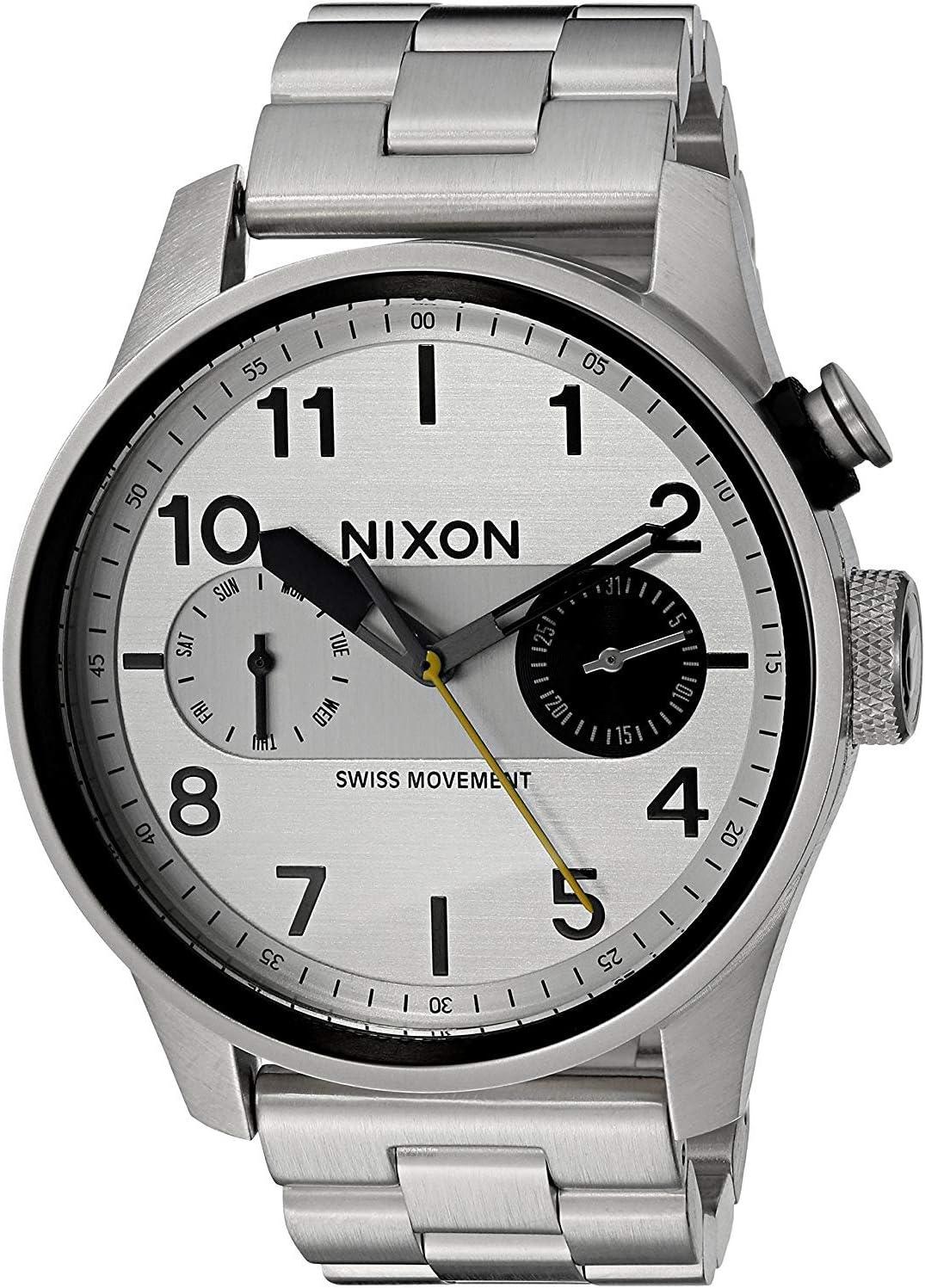 Nixon Safari Deluxe -Spring 2017- Silver