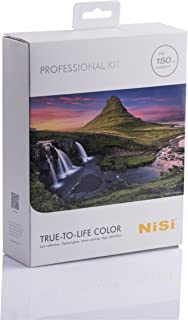 NiSi 150mm System Professional Filter Kit- 1pc Soft/Hard/Reverse GND, 1pc Polarizer, 2pcs ND Filters and Accessories