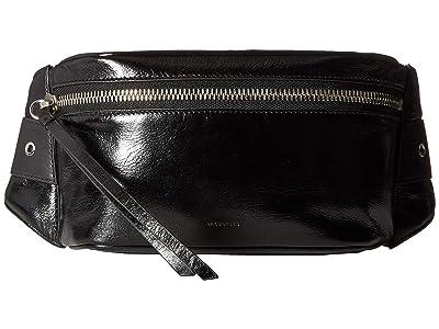 AllSaints Clip Bumbag (Black) Bags