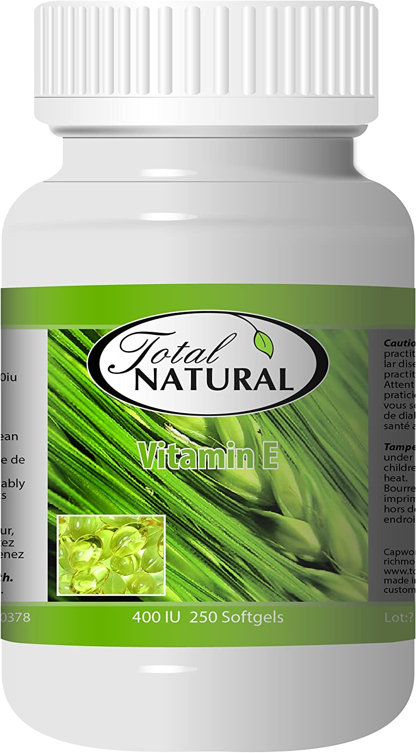 Total It Brand new is very popular Natural Vitamin E 400UI 2 Bottles by 180s