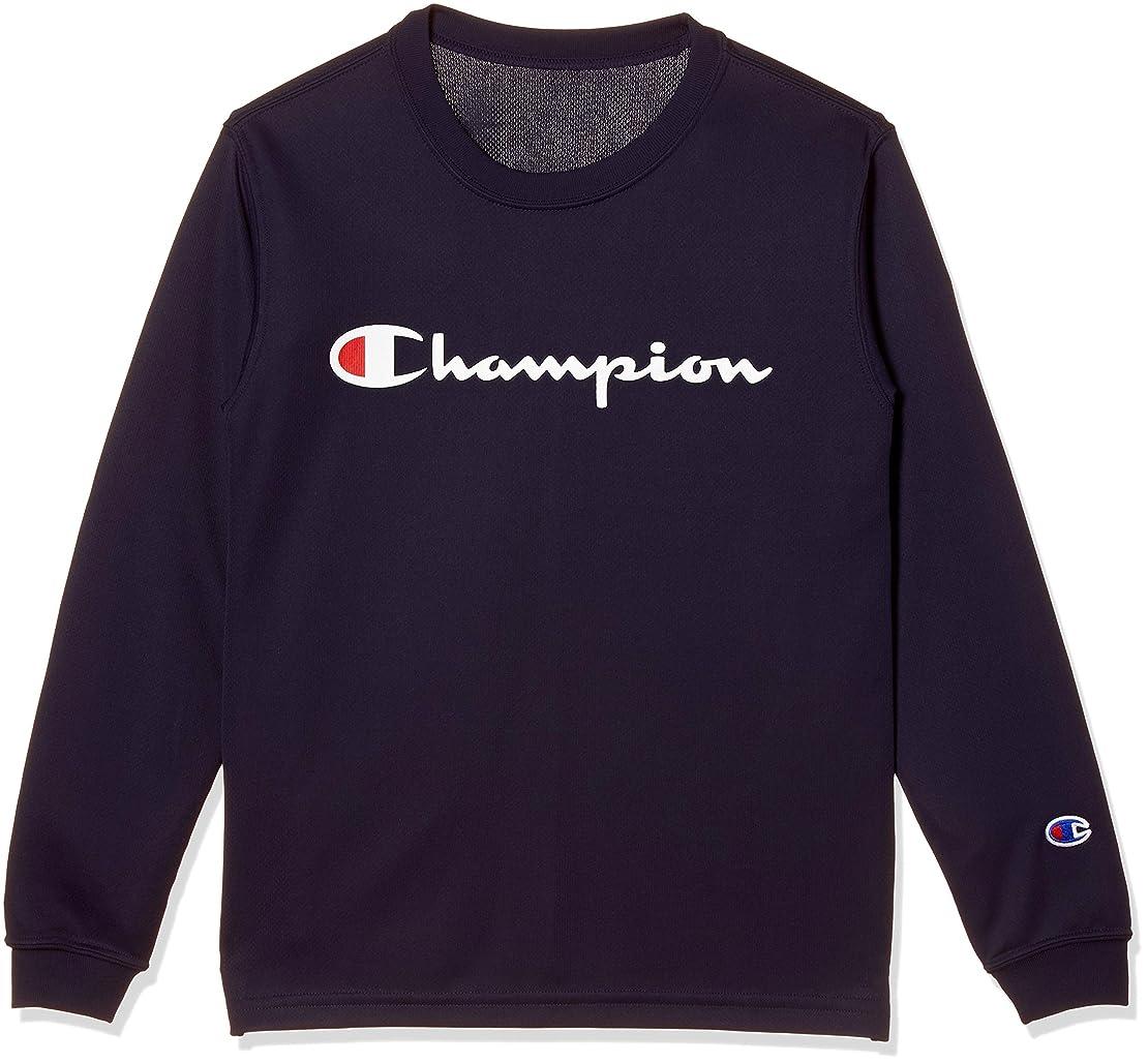 抜本的な高潔な注目すべき[チャンピオン] プラクティスロングスリーブTシャツ バスケットボール CK-NB416 ボーイズ