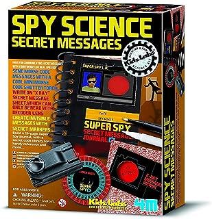 4M KidzLabs Spy Science Secret Message, Multi-Colour, 00-03295