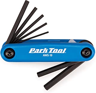 Park Tool AWS-10 Fold-Up Hex Wrench Set