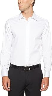 Oxford Men Islington French Cuff Dobby Shirt, White