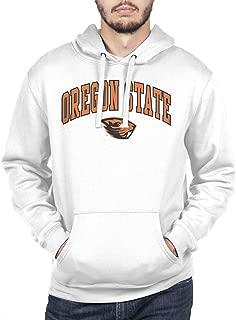 NCAA Men's Hoodie Sweatshirt White Arch