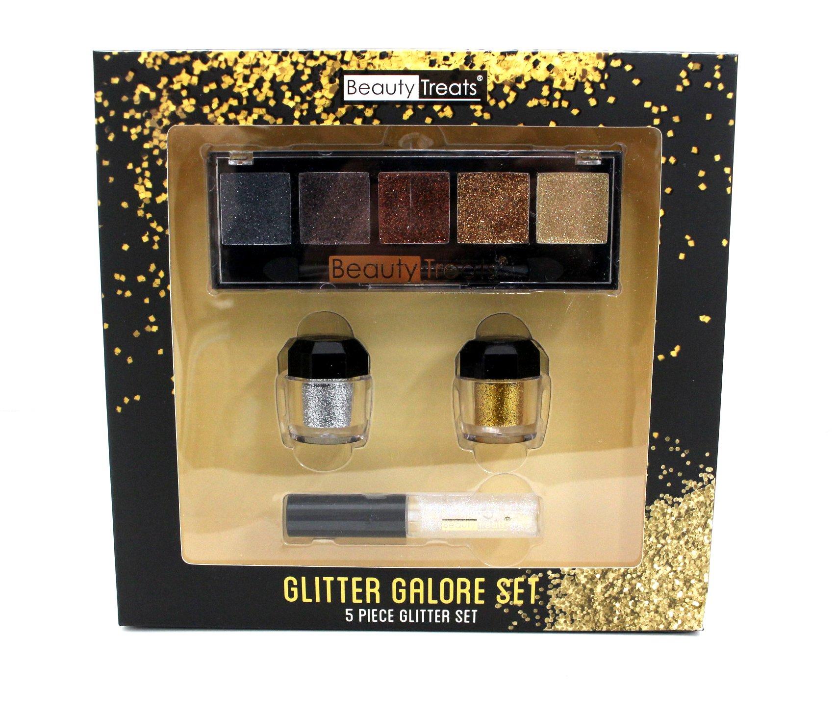 Beauty Treats-glitter Galore Set 5pcs Glitter Set