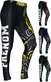 Phenom Men's Compression Pants Baselayer Cool Dry Sports Tights Leggings