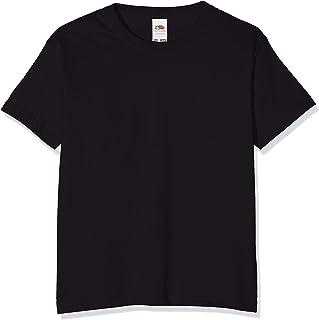 Camiseta básica de Manga Corta para niño/niña Unisex - 100% Algodon de Primera Calidad