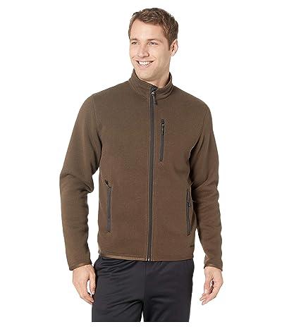 Filson Ridgeway Fleece Jacket (Dark Brown) Men