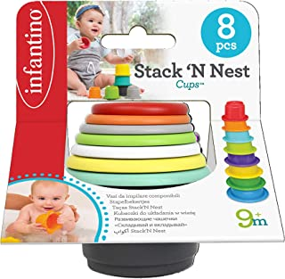 Infantino stack'n nest cups^B092193H28