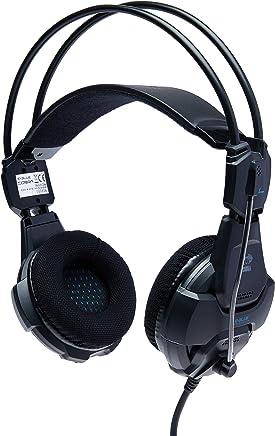 Headset Fone De Ouvido Gamer E-blue Cobra 926 Black