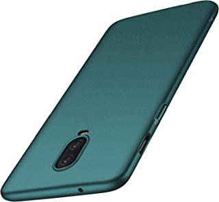 anccer Compatible for OnePlus 6T Case [Colorful Series] [Ultra-Thin Fit] Premium Material Slim Cover for OnePlus 6T 2018 (Gravel Green)
