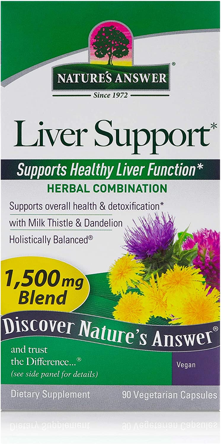 Nature's Answer Liver NEW before selling Nashville-Davidson Mall ☆ Support Herbal Combination with Thi Milk