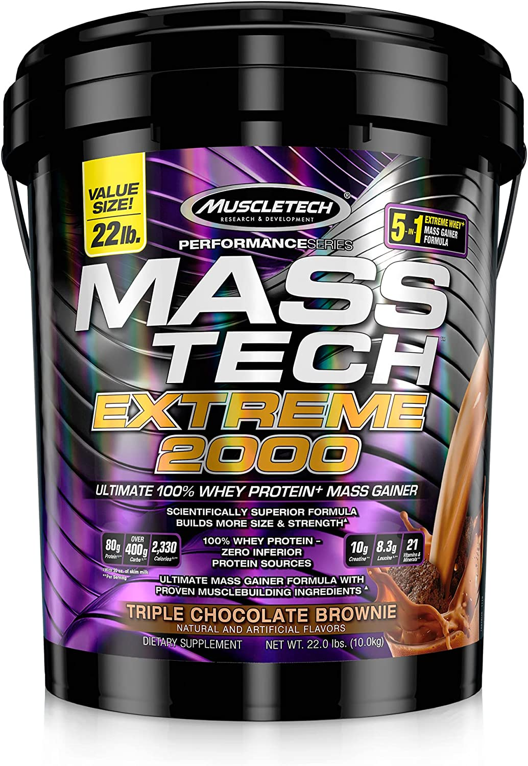 Mass Manufacturer direct delivery Gainer Protein Max 57% OFF Powder 2000 MuscleTech Mass-Tech Extreme