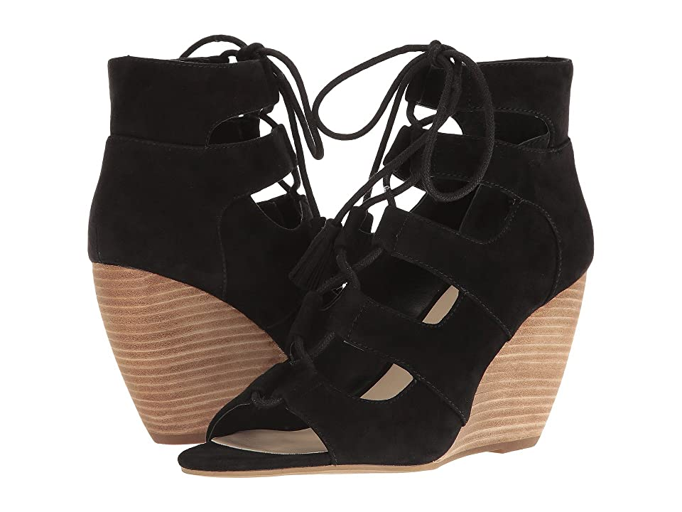Seychelles Delirious (Black Suede) Women