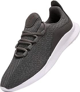 NIUBUFAN Mens Running Shoes Lightweight Athletic Gym Walking Sneakers