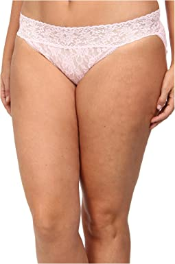 Plus Size Signature Lace V-Kini