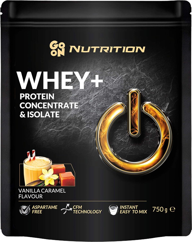 Go On Nutrition Whey Confezione da 1 x 750g Concentrado y Aislado de Proteína de Suero: Instant con Aminoácidos BCAA Sin Aspartamo (White Chocolate ...