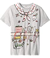 Stella McCartney Kids - Arlow Printed Gardener Short Sleeve Tee (Toddler/Little Kids/Big Kids)