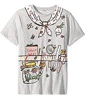 Stella McCartney Kids - Arlow Printed Gardener Short Sleeve Tee (Toddler/Little Kids/Big Kids)