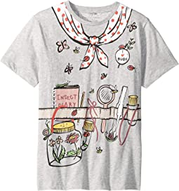 Arlow Printed Gardener Short Sleeve Tee (Toddler/Little Kids/Big Kids)