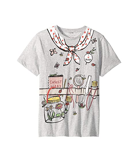 Stella McCartney Kids Arlow Printed Gardener Short Sleeve Tee (Toddler/Little Kids/Big Kids)