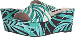 Nine West Falardo Platform Wedge Slide Sandal
