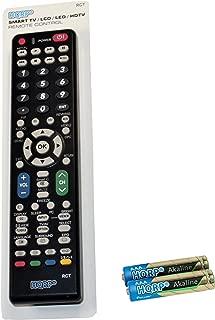 HQRP Remote Control for Sharp LC-40LE653U LC-40LE700UN LCD LED HD TV Smart 1080p 3D Ultra 4K AQUOS + HQRP Coaster